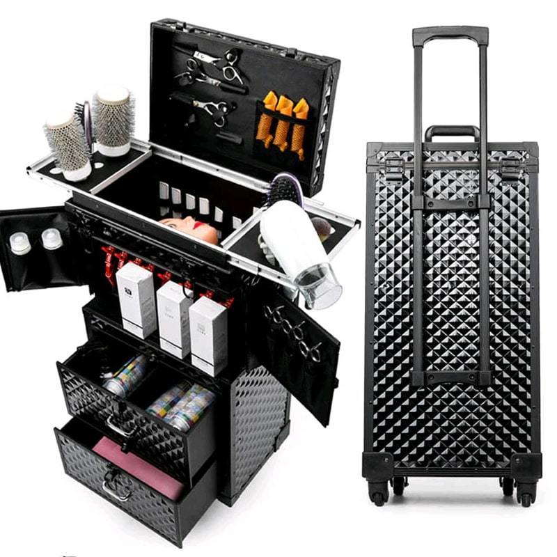Купить чемодан для косметики на колесах silk косметика купить в
