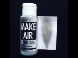 Краска для аэрографии (60ml) MAKE AIR 904 – серебро
